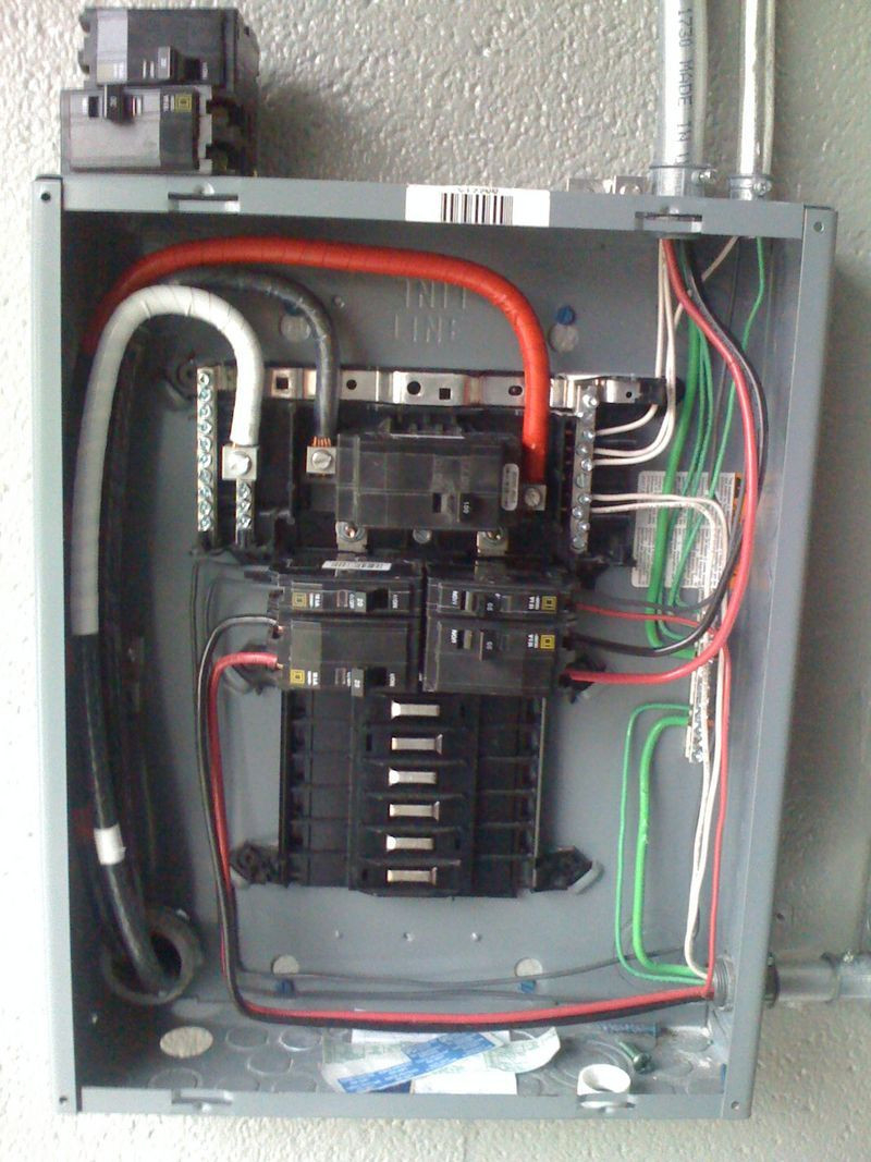 200 Amp Breaker Box Wiring Diagram