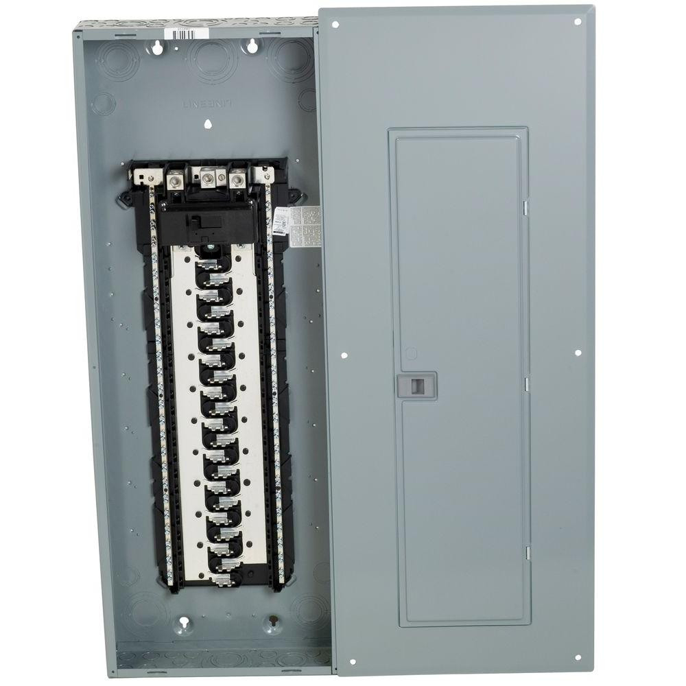 Main Breaker Panel Wiring Diagram A on 70 amp 2 space,