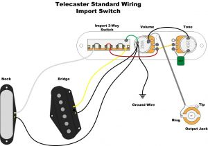 Standard Telecaster Wiring Diagram - A Wealth Of Guitar Wiring Diagrams 12g