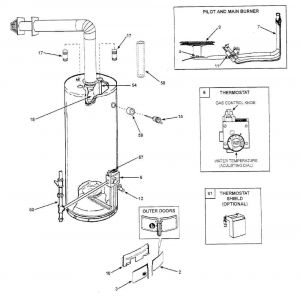 Suburban Water Heater Sw6de Wiring Diagram - Suburban Sw6de Wiring Diagram Water Heater Manual Sw10de Inside 18d