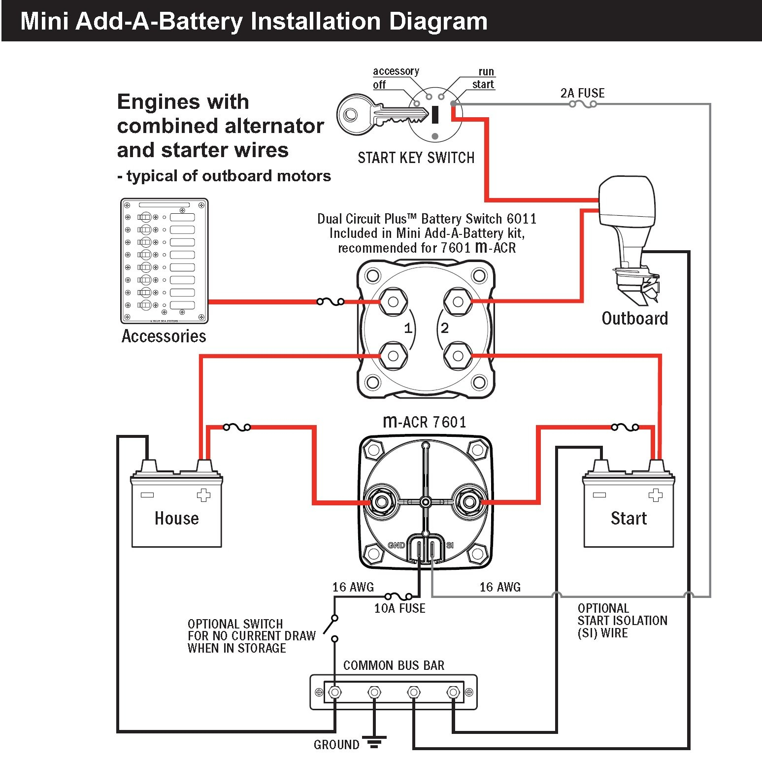 Sure Power Battery Isolator Wiring: Sure Power Battery Isolator Wiring Diagram Download