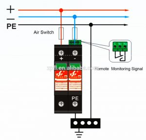 Surge Protection Device Wiring Diagram - Surge Diverter Wiring Diagram 2n