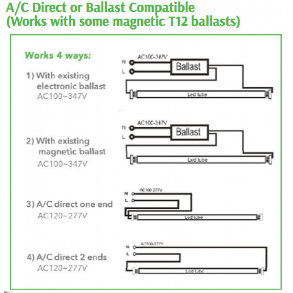 Gallery Of T12 Ballast Wiring Diagram Sample