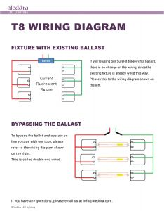 T8 Led Tube Wiring Diagram - Wiring Diagram for Led Tubes Inspirationa Wiring Diagram Led Tube Philips Copy Triad Ballast In T8 7p
