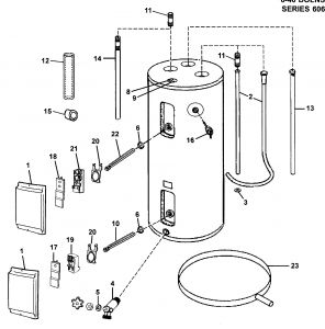Tankless Water Heater Wiring Diagram - Wiring Diagram Electric Water Heater New Electric Water Heater Parts Diagram 14i