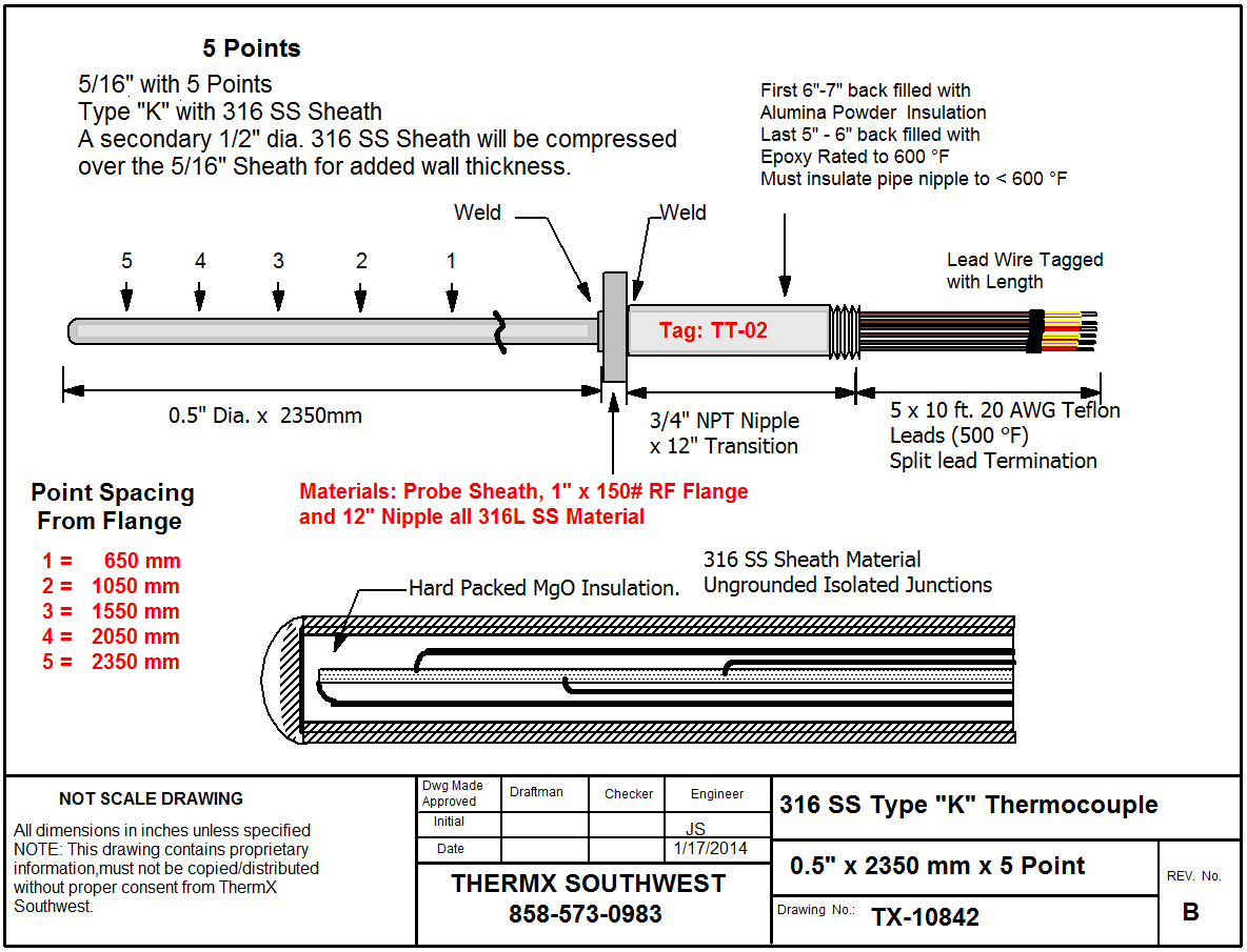 thermocouple wiring diagram Download-Thermocouple Wiring Diagram Unique Custom Multipoint thermocouple 1-t