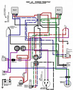 Tilt and Trim Switch Wiring Diagram - Mercruiser Boat Wiring Diagrams Moreover Mercury Outboard Wiring Rh Lakitiki Co 8f