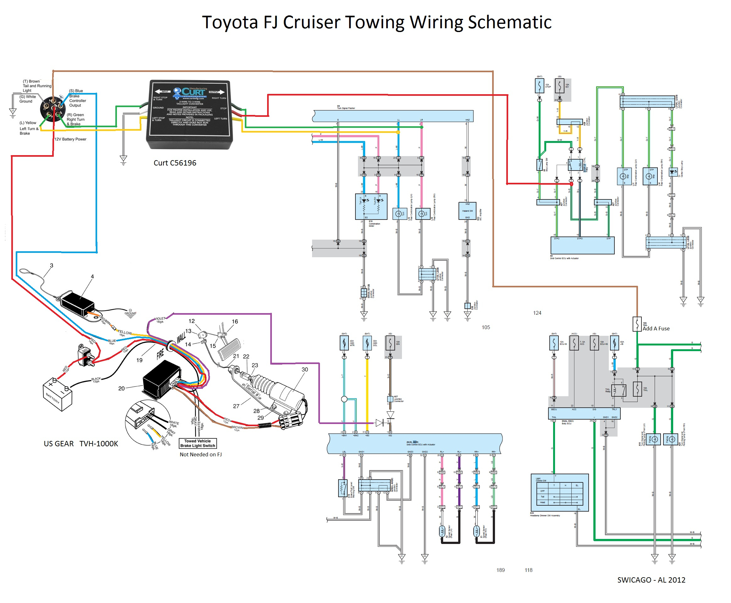 toyota tundra trailer wiring harness diagram Download-Toyota Tundra Trailer Wiring Harness Diagram Beautiful Flat tow 6mt Yes It Can Be Done toyota 13-b