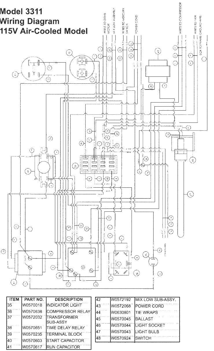 true freezer t 49f wiring diagram Collection-True Freezer Wiring Diagram Unique True Freezer T 49f Wiring Diagram New Update within 2-n