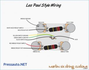 Vintage Les Paul Wiring Diagram - Les Paul Wiring Diagrams Blurts Me and 3 Pickup Diagram 11h