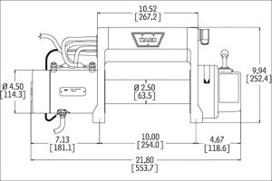 Warn Winch M8000 Wiring Diagram - Warn 9 5cti Wiring Diagram Wiring Data U2022 Rh Maxi Mail Co Dakota Digital Speedometer Wiring Diagram Winch solenoid Wiring Diagram 11g