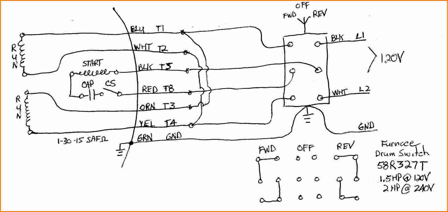 weg 12 lead motor wiring diagram Download-dayton capacitor start motor wiring diagram wiring diagram rh magnusrosen net 230 Single Phase Wiring Diagram 12 Lead Motor Wiring Diagram 17-l