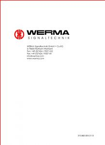 Werma De 78604 Wiring Diagram - Page 50 Of Win1 Tranceiver User Manual 5 Werma Signaltechnik Gmbh Co Kg 11k