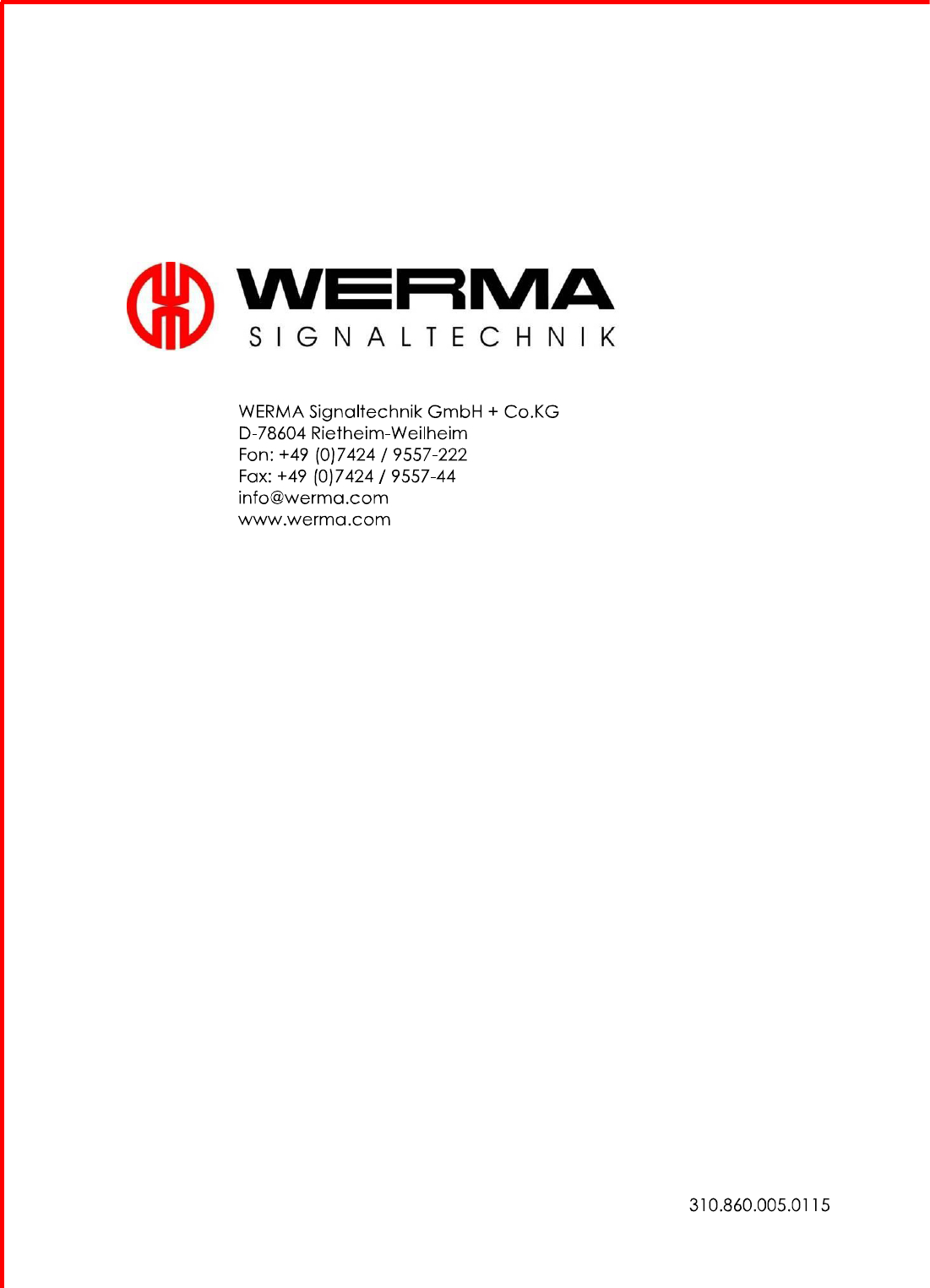 werma de 78604 wiring diagram Collection-Page 50 of WIN1 Tranceiver User Manual 5 WERMA Signaltechnik GmbH Co KG 5-r