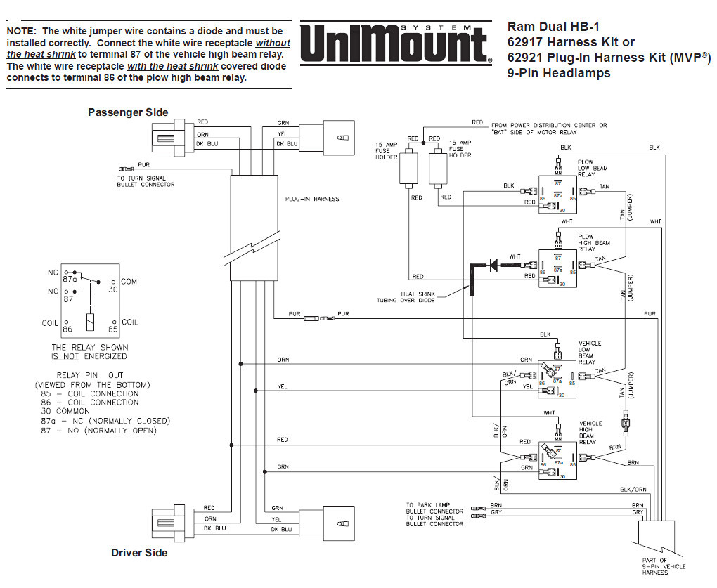 western snow plow wiring diagram Collection-western snow plow solenoid wiring diagram Collection Western Snow Plow Wiring Diagram Unimount Library Ayurve 15-d