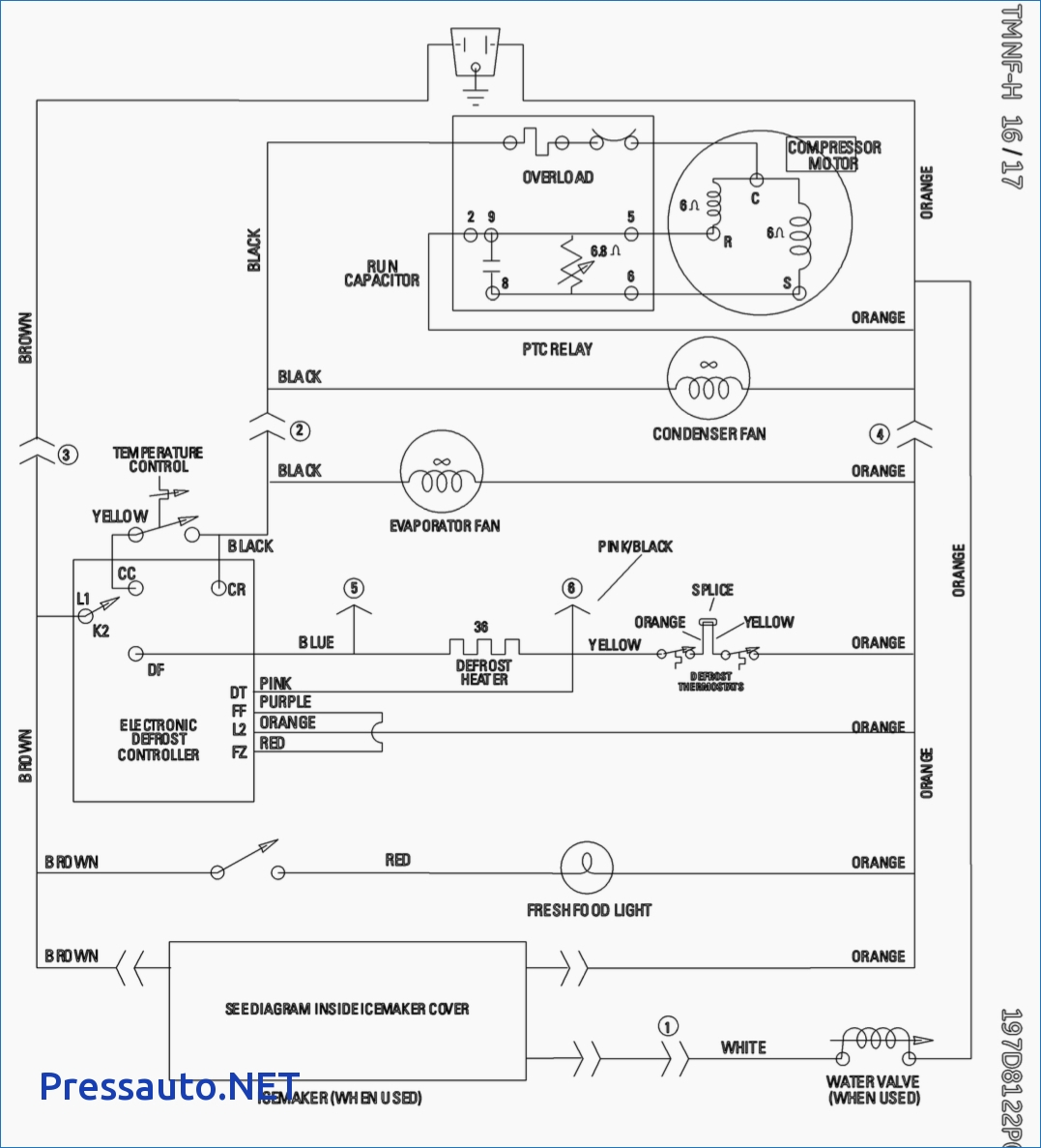 Gallery Of Whirlpool Fridge Wiring Diagram Download