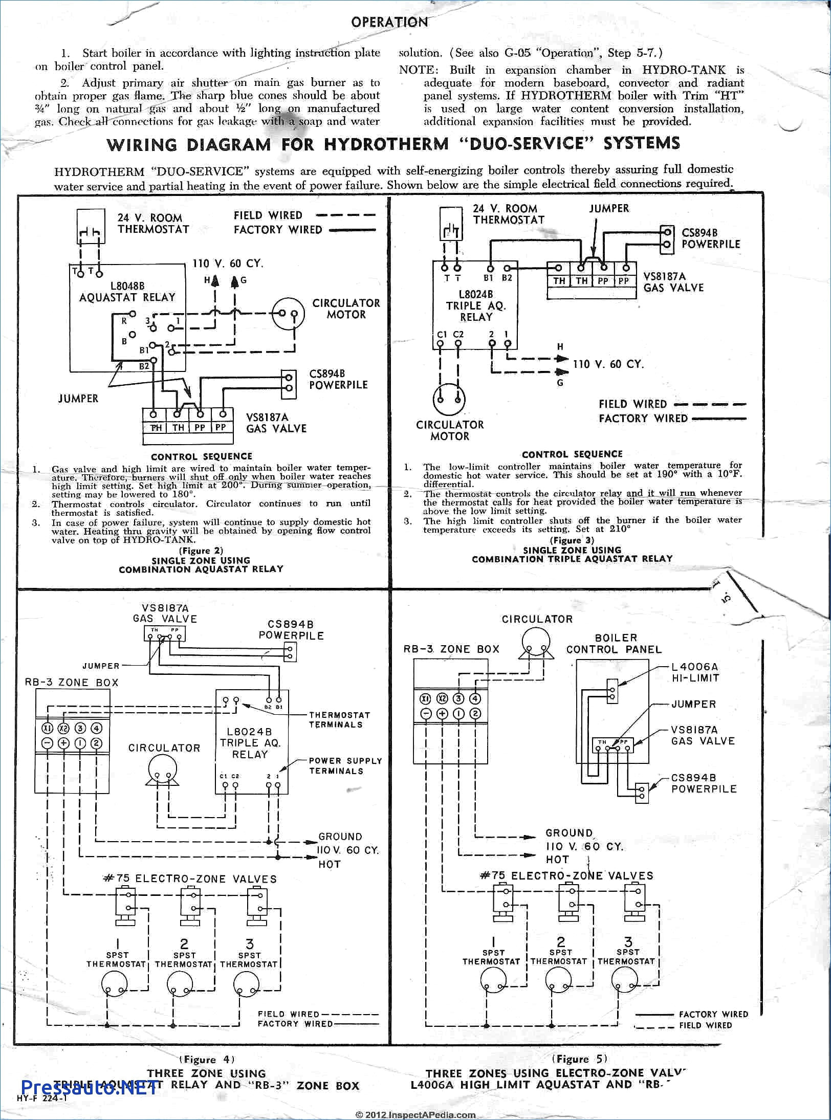 Gallery Of White Rodgers Relay Wiring Diagram Sample
