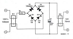 Wiring Diagram Bridge Rectifier - Bridge Rectifier Wiring Diagram Wiring Diagram U2022 Rh Growbyte Co 1s