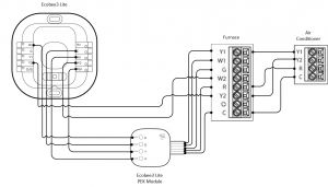 Wiring Diagram for A Nest thermostat - Nest thermostat Wiring Diagram 1o