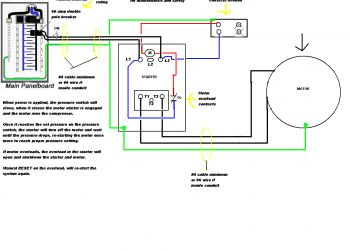 Wiring Diagram for Air Compressor Motor - Air Pressor Wiring Diagram 230v 1 Phase 8i