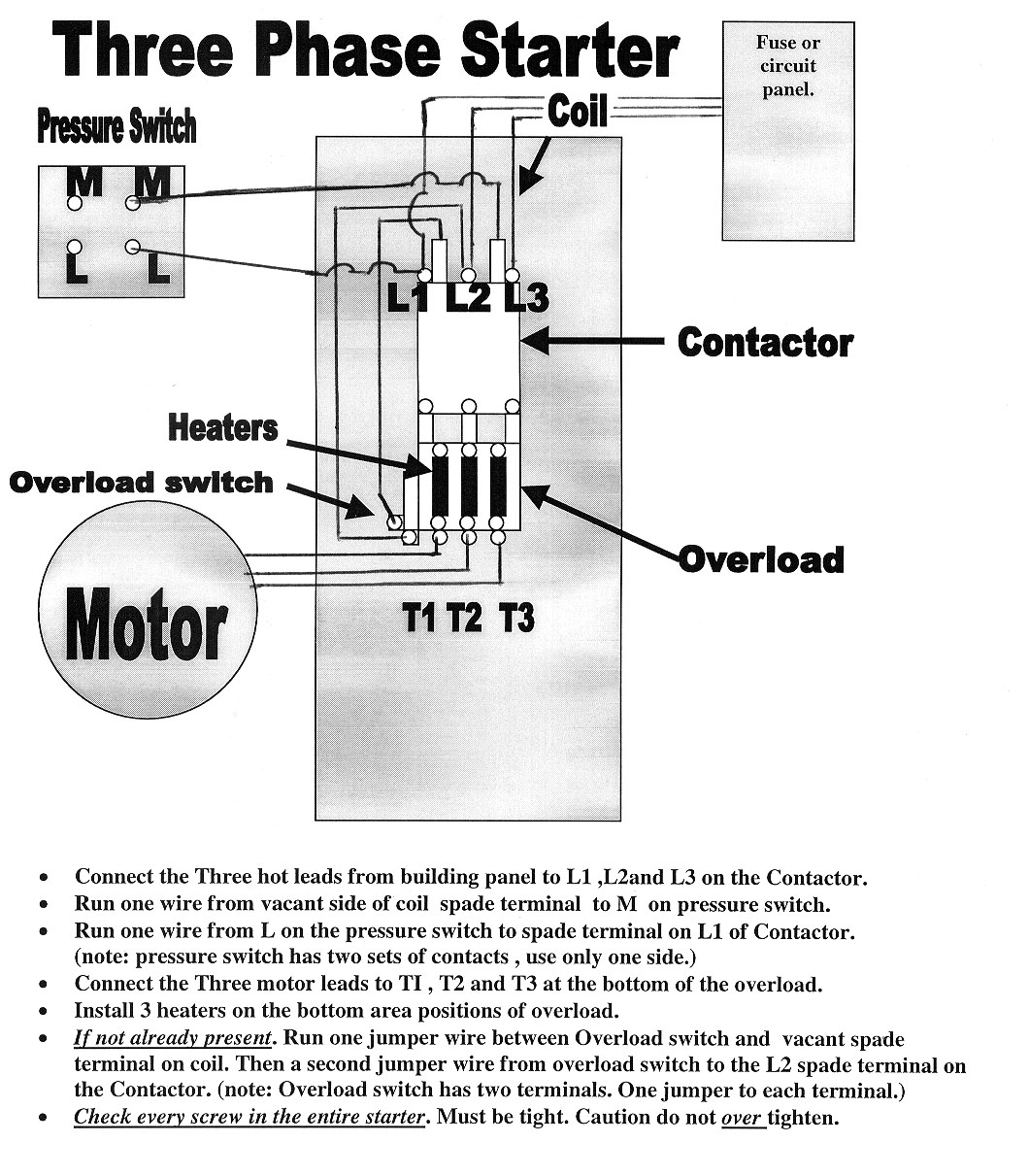 Find Out Here Wiring Diagram For Air Compressor Motor Sample