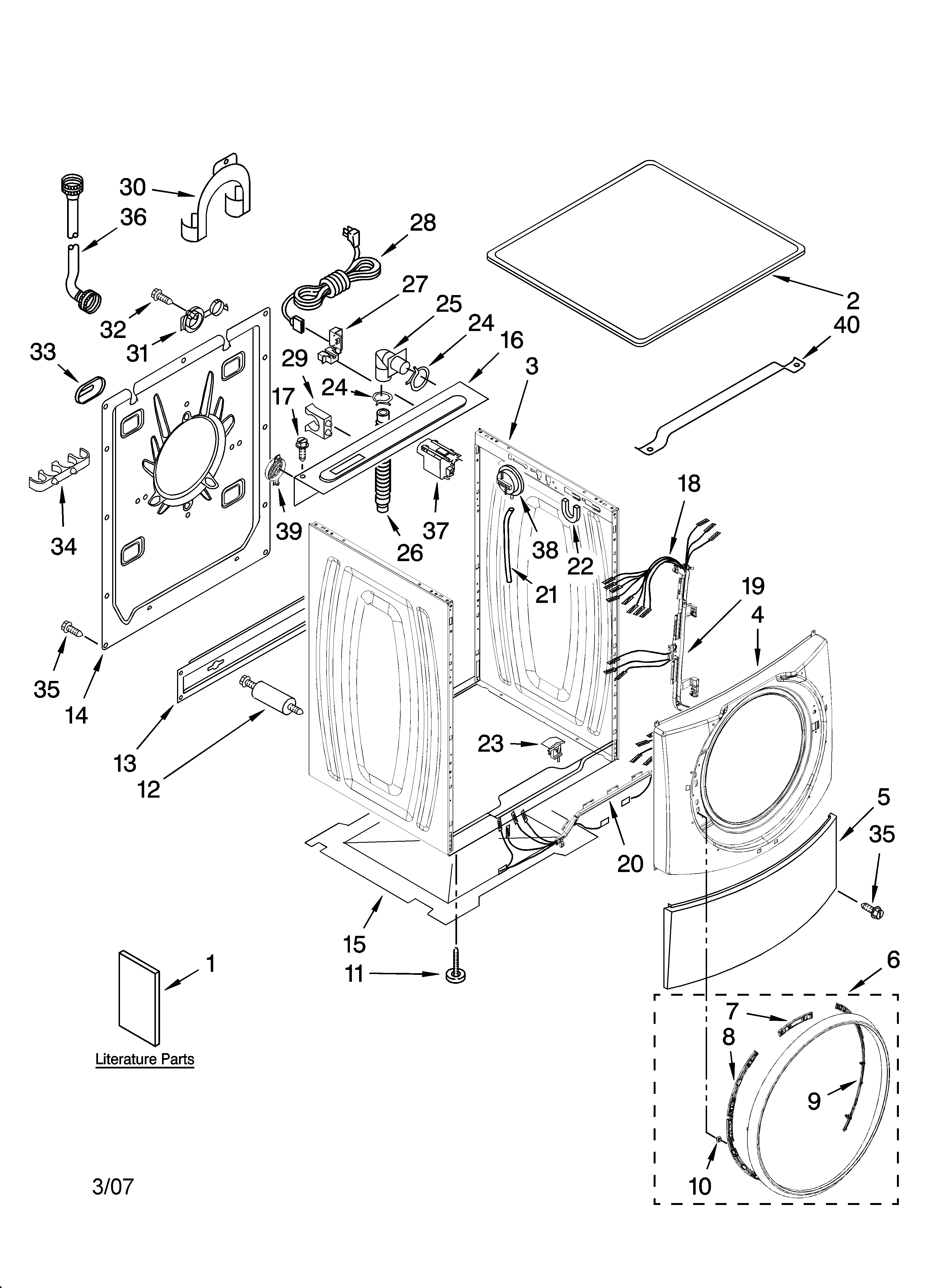 wiring diagram for kenmore dryer model 110 Download-Kenmore Dryer Model 110 Parts Diagram New Diagram Kenmore Elite Parts Diagram 6-d