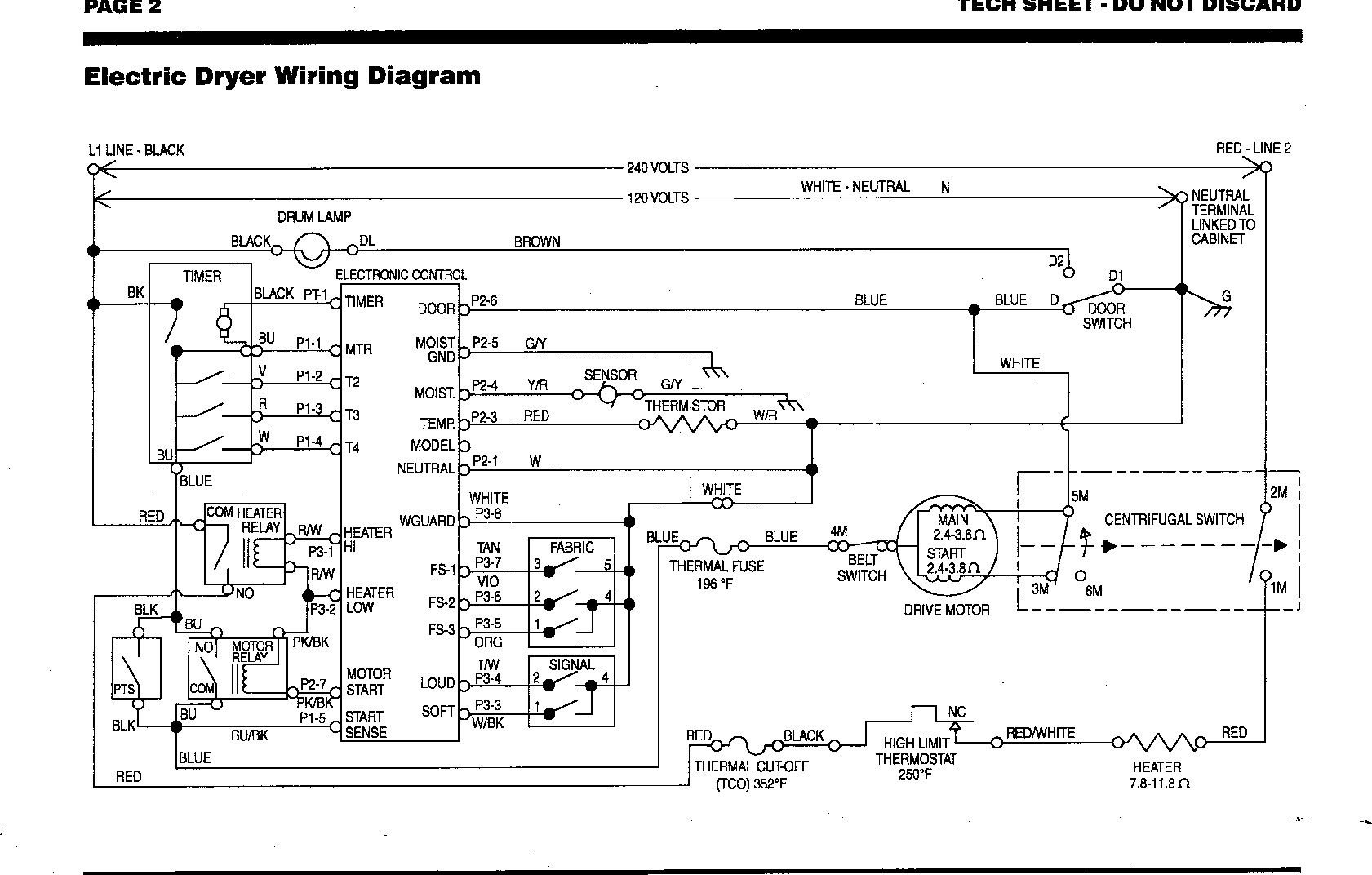Get    Wiring       Diagram    for Kenmore    Dryer    Model 110 Download