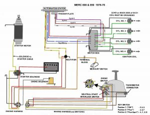 Wiring Diagram for Mercury Outboard Motor - Mercury Outboard Wiring Harness Diagram Download 1997 Mercury Outboard Motor Wiring Diagram Electrical Drawing Rh 5m
