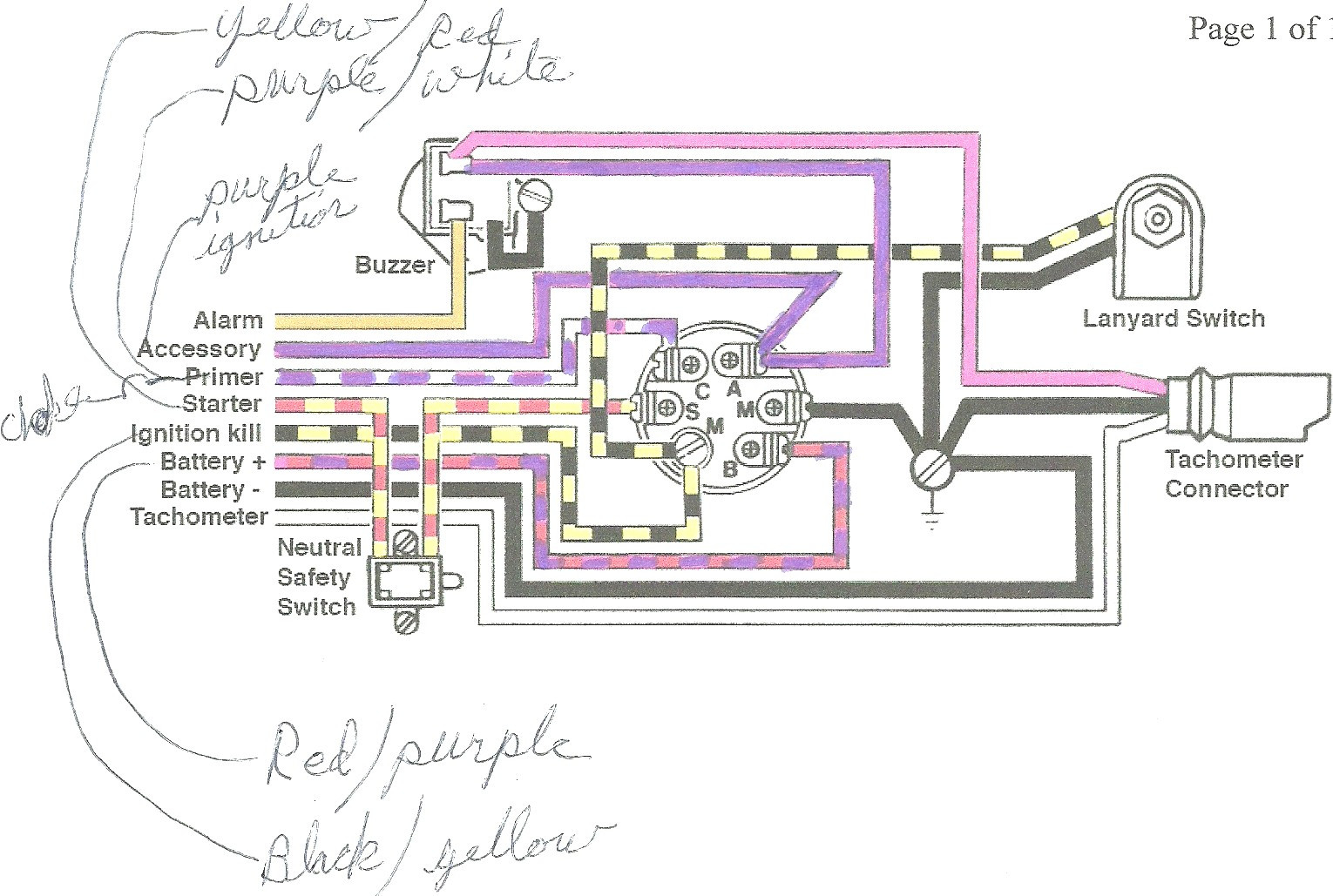 wiring diagram for mercury outboard motor Download-mercury outboard wiring harness diagram Download switch wiring diagram on mercury 60hp outboard motor wiring 4-r