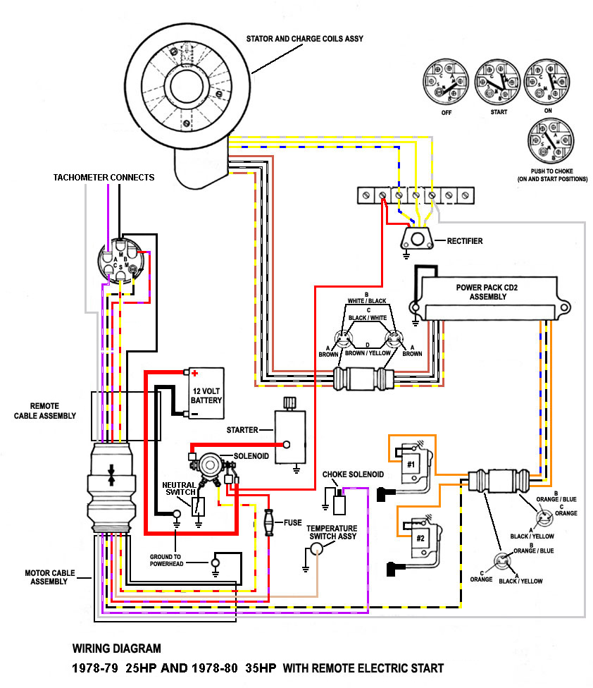 Find Out Here Wiring Diagram for Mercury Outboard Motor ...