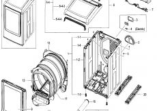 Wiring Diagram for Samsung Dryer Heating Element - 14b