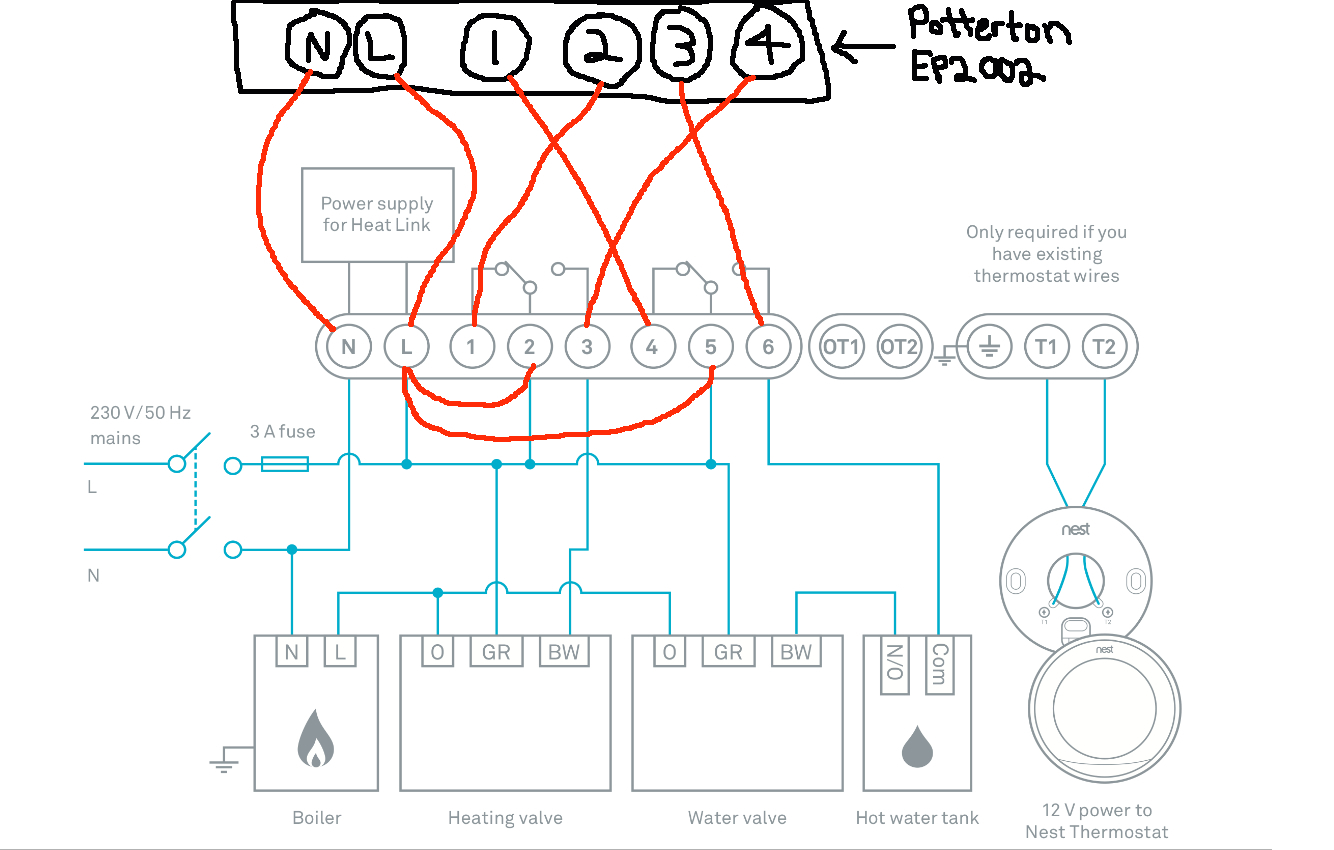 Wiring Diagram For The Nest Thermostat Sample House Trailer Diagrams 3rd Generation Collection