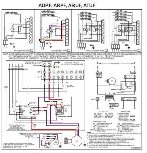 Wiring Diagram for thermostat to Furnace - Goodman Furnace thermostat Wiring Diagram 12l