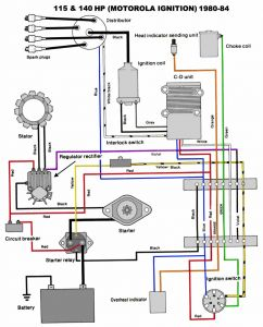 Collection Of Yamaha Outboard Wiring Diagram Sample on