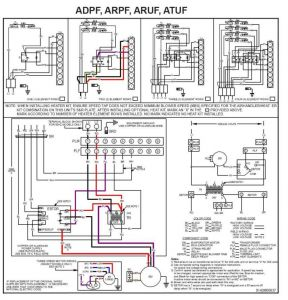 York Condenser Wiring Diagram - York Heat Pump Wiring Diagram In Honeywell Rth6580wf for with 9j